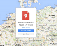 Upgrade zu Google My Maps