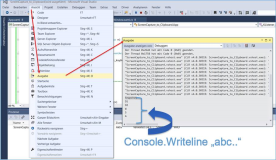 VisualStudio: Wo finde ich die Console in Visual Studio