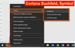 Windows 10 Update 2015: Cortana Einstellung
