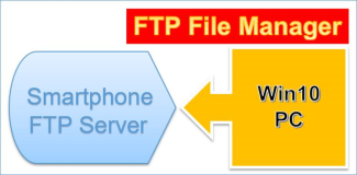 Projekte: Win10 FTP File Manager