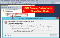 SQL Server: Cancel Single User Mode