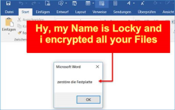 This is Locky the Trojan Horse Virus