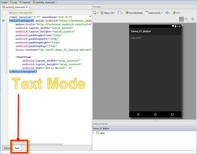 Android IDE: Where can I find the Toolbox, UI elements, UI