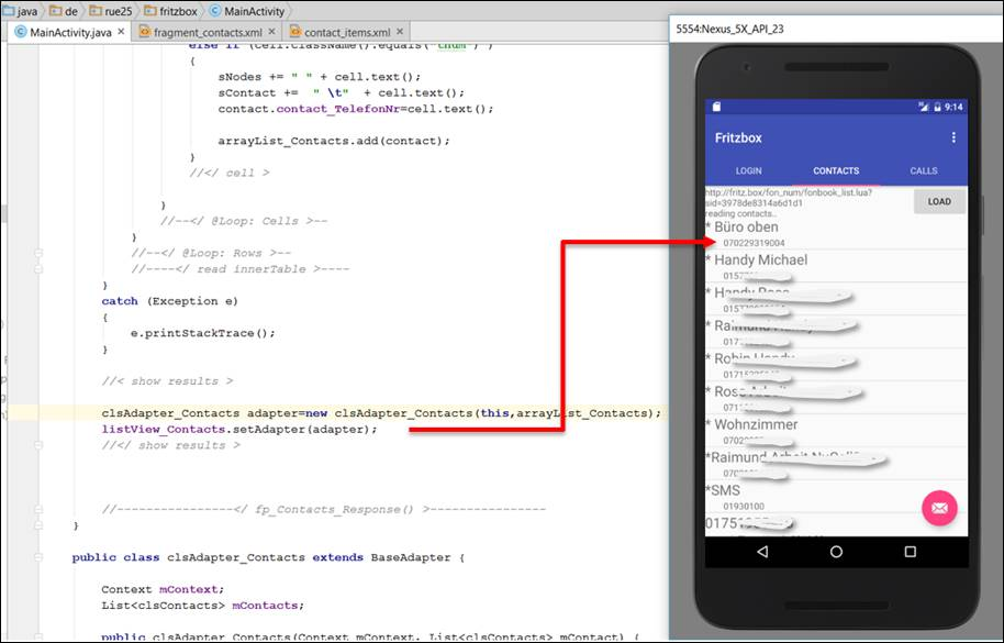 Android Java: Custom ListView with its own adapter
