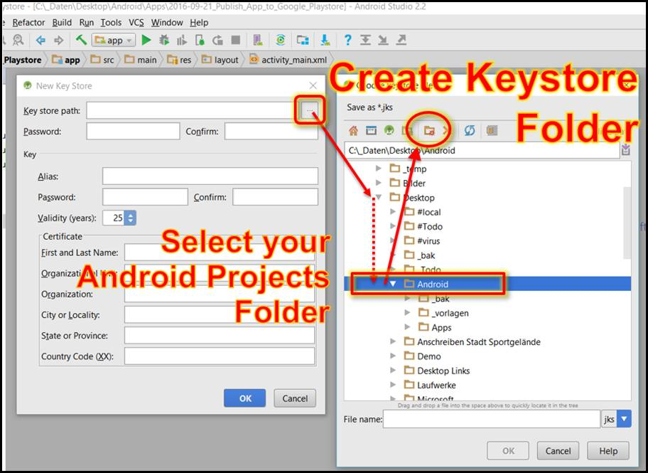 Preparing Android app for Google PlayStation Store #Part1