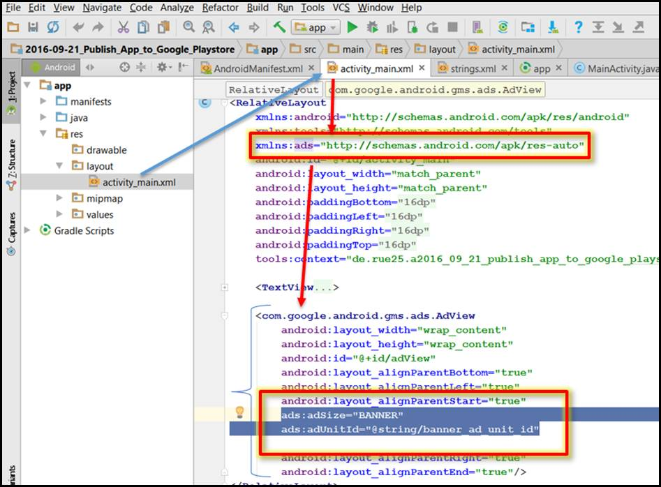 Integrate AdMob advertising into an Android app Part 2/2