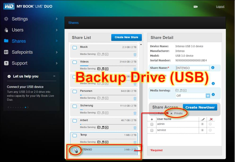 WD my Book LIVE Duo: Protect your Backup from Ransomware