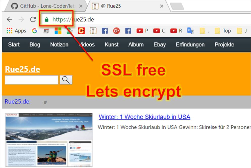 Ssl Lets Encrypt Free Ssl For Web Pages Codedocu