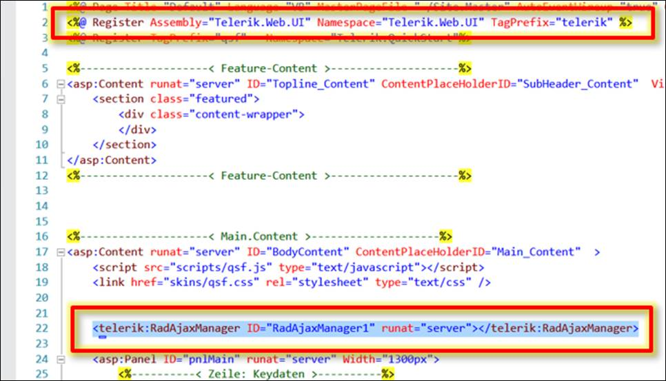ASP Net: Upload Files with Ajax Controls from Telerik