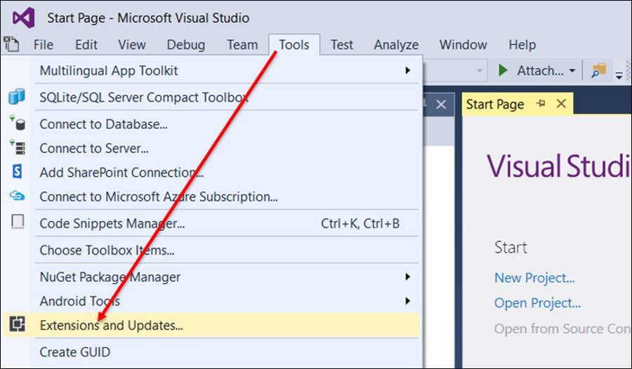 ASP Net Core: Install recommended additional tools