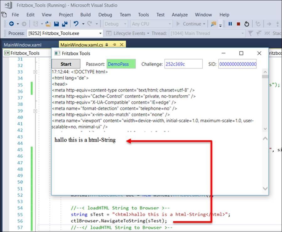 WPF WebBrowser Load HTML to How string like into control