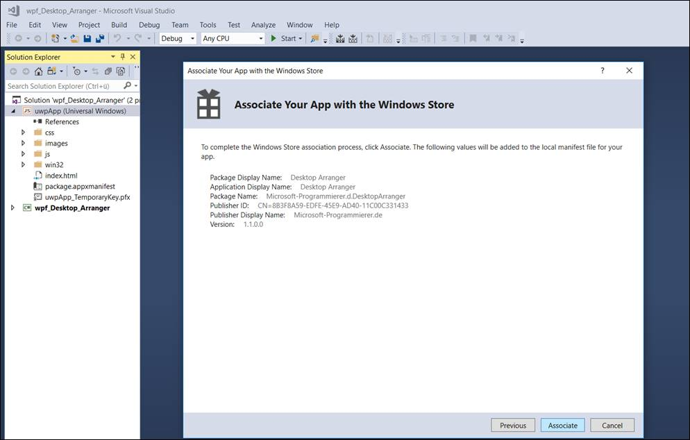 Manually converting WPF Winforms to UWP Instructions