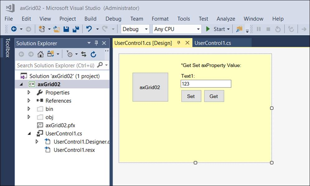 Code: Create your own ActiveX Component in Visual Studio