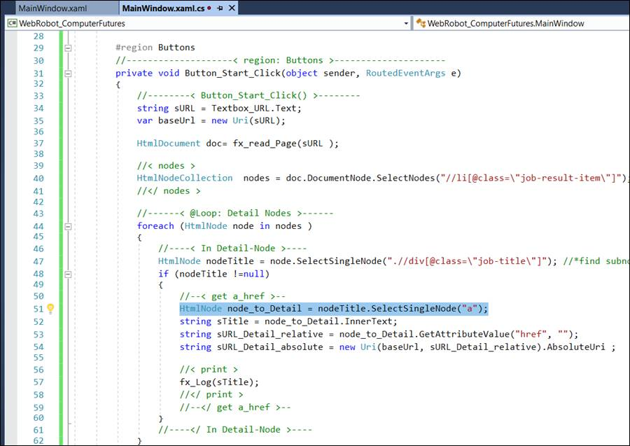 WPF HTML: Read Website with Webrequest and