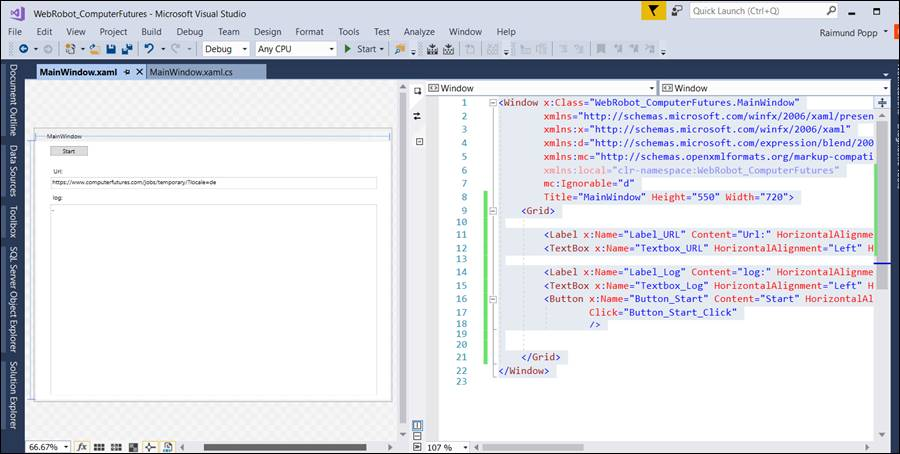WPF HTML: Read Website with Webrequest and HtmlAgilityPack