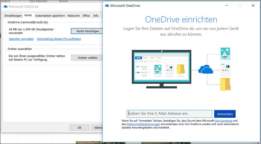 Setup OneDrive How to change the settings of Microsoft Office cloud
