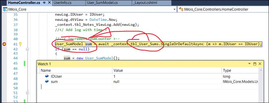 Nullreferenceexception Object Reference Not Set To An Instance Of An Object