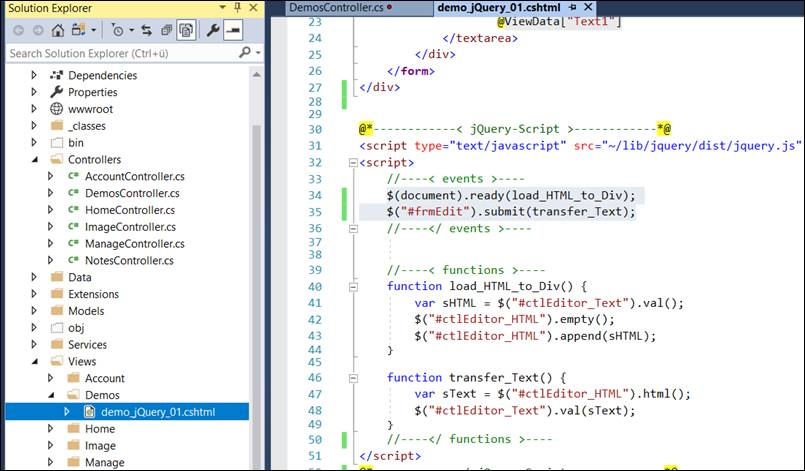 jQuery: execute function before submit with send @ CodeDocu