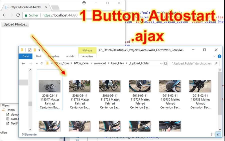jQuery: 1-Button file upload with autostart @ CodeDocu Net Framework