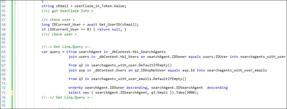 Linq: Select Fields in Query