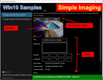 UWP Samples: Simple Imaging, Images Pictures
