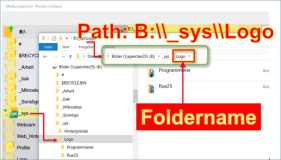 C#: Determine folder name from path