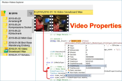 UWP, c#: Properties determine video