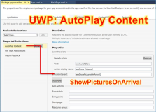 UWP: AutoPlay properly set the field [content event]