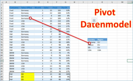 Excel pivot: join multible tables