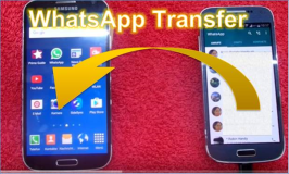 WhatsApp: transfer data to a different Smartphone