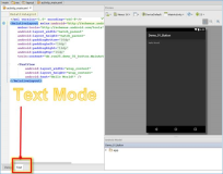 Android IDE: Where can I find the Toolbox, UI elements, UI controls in Android Studio?