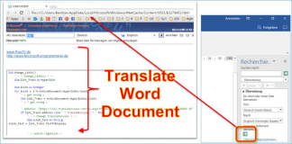 Word macro: Automatic correction of wrong translation links