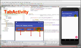 Android: Create a tabbed activity in Android Studio