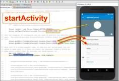 Android: Macro Coding with Intent and StartActivity