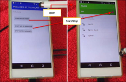 Android app code: Start stop Wi-Fi with Java code