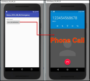 Android code: Automatically dial a phone number