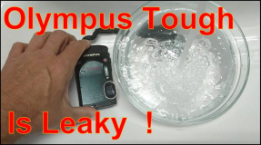 Olympus tough is not really waterproofed