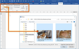 Word addin Ribbonbar: Insert photos with FileDialog