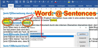 Word macro: Select all the records and delete markers