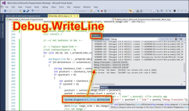 Debug.Writeline: Where is the output?