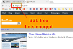 SSL: Lets encrypt: free SSL for web pages