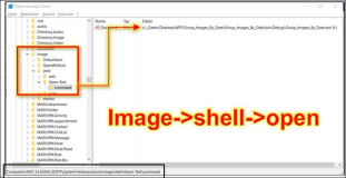 Registry: Assign images with application