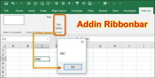 Excel Addin: create a Ribbonbar via VSTO Addin
