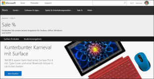 Notebooks: Microsoft Surface Pro 4 (Tablet) or Microsoft SurfaceBook (Notebook)