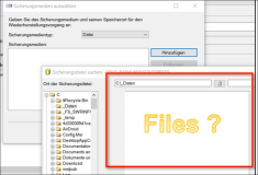 SQL Server Problem: File path can not be accessed and can not be searched