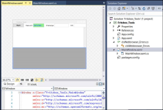 WPF Code Login into AVM Fritzbox and evaluation by Project