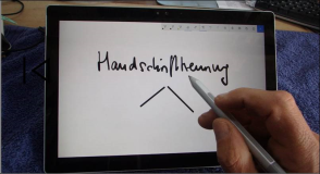 Handwriting recognition and pencil input with Windows 10
