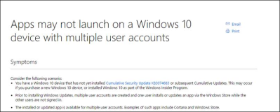 Repair Windows Store: Multiple User Accounts Troubleshooter