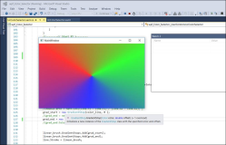 WPF: Draw ColorWheel in C# by drawing Lines