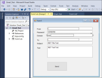 SendMail Client in .Net Winform, WPF